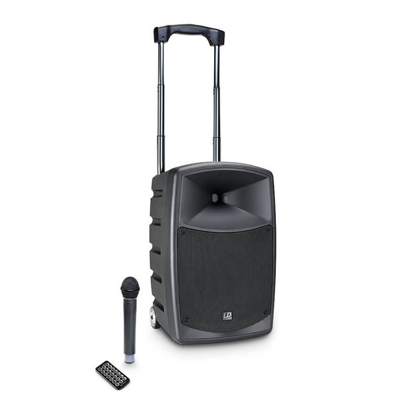 Alquilar altavoz portátil con micrófono